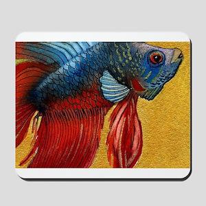 Beautiful Betta Fish Mousepad