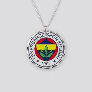 fenerbahce_basic Necklace Circle Charm