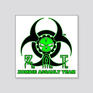 "zatfront Square Sticker 3"" x 3"""
