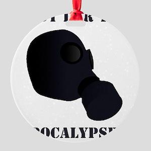 Apocalypse Round Ornament