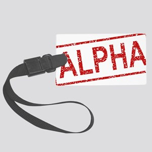 ss-alpha Large Luggage Tag