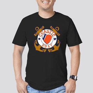 USCG SND 3a Brat Outli Men's Fitted T-Shirt (dark)