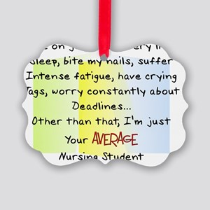 Nursing Student Picture Ornament