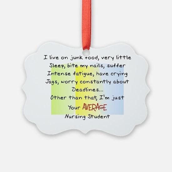 Nursing Student Ornament