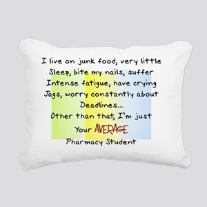 average pharmacy student Rectangular Canvas Pillow