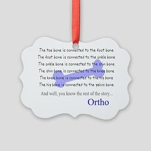 Orthopedics Picture Ornament
