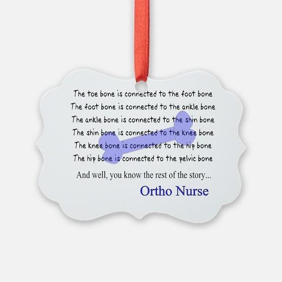 Ortho nurse 2 Ornament