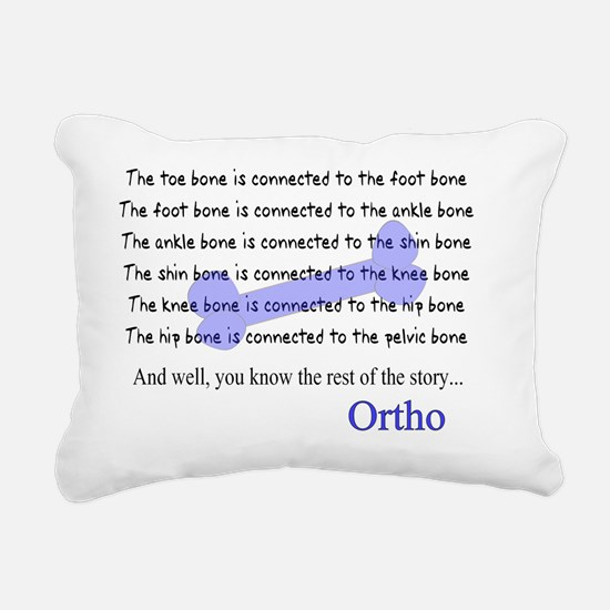 Ortho Rectangular Canvas Pillow