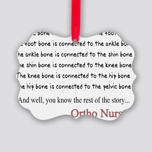 Ortho Nurse 1 Picture Ornament