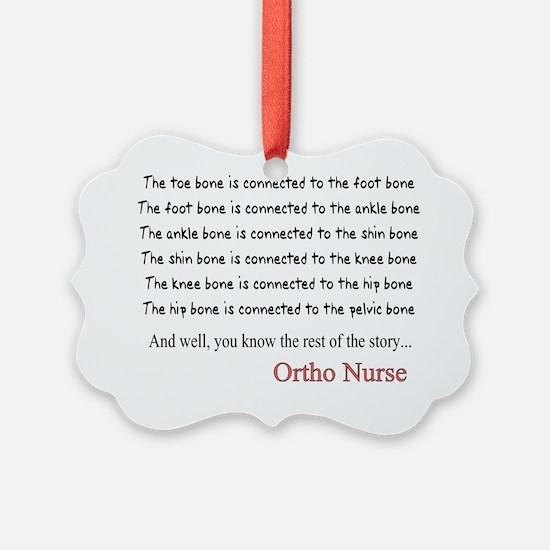 Ortho Nurse 1 Ornament