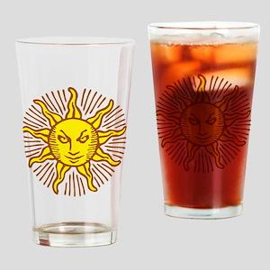 Evil sun Drinking Glass