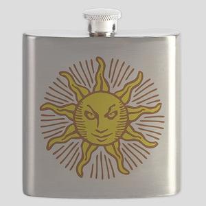 Evil sun Flask