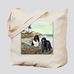 2 newfs and boat 100dpi Tote Bag