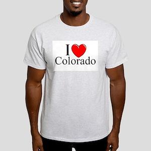 """I Love Colorado"" Ash Grey T-Shirt"