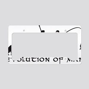 Evolution Angler B 2c Fisch License Plate Holder
