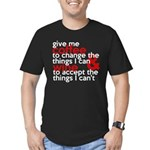 Give Me Coffee And Wine Humor Men's Fitted T-Shirt