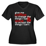 Give Me Coffee And Wine Humor Women's Plus Size V-