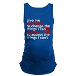 Give Me Coffee And Wine Humor Maternity Tank Top