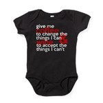 Give Me Coffee And Wine Humor Baby Bodysuit