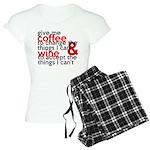 Give Me Coffee And Wine Humor Women's Light Pajama