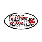 Give Me Coffee And Wine Humor Patches