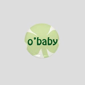 obaby shamrock_dark Mini Button