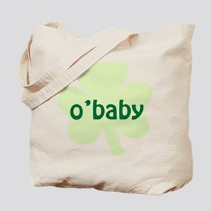 obaby shamrock_dark Tote Bag