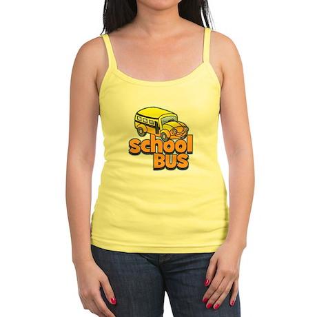 Simple School Bus Jr. Spaghetti Tank