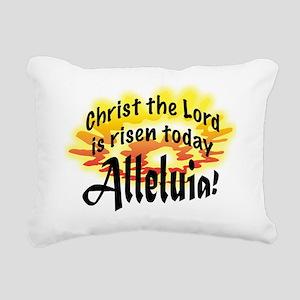 Alleluia Rectangular Canvas Pillow