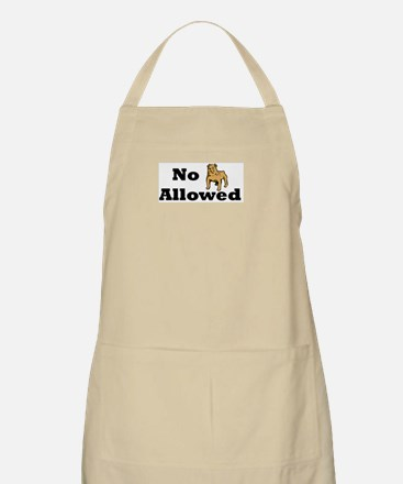 No Dogs Allowed BBQ Apron
