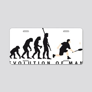 Evolution Badminton 02-2011 Aluminum License Plate
