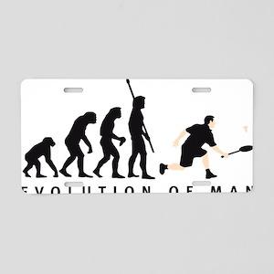 Evolution Badminton 02-2011 Aluminum License Plate