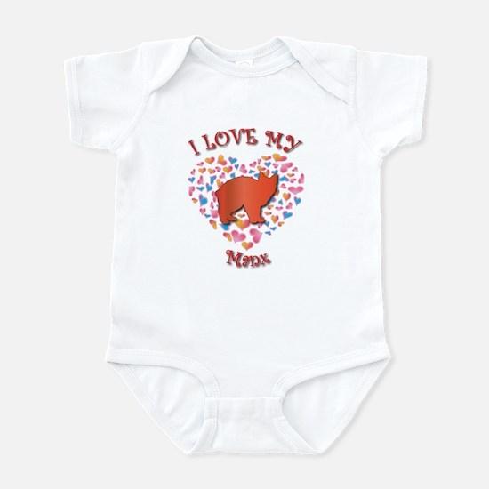 Love My Manx Infant Bodysuit