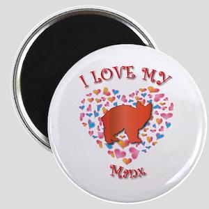 Love My Manx Magnet