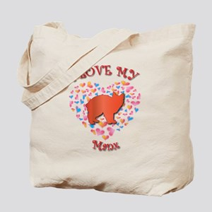Love My Manx Tote Bag