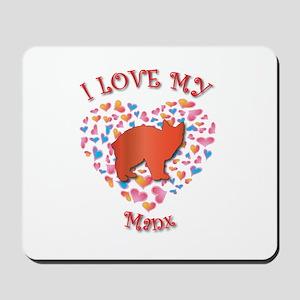 Love My Manx Mousepad
