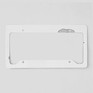 LeapingWeimTrans License Plate Holder