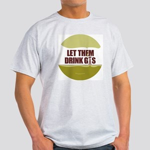 No Fracking - Let Them Drink Gas - l Light T-Shirt