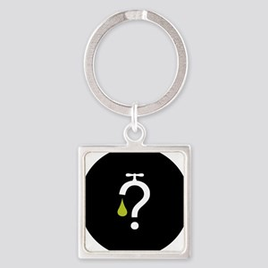 No Fracking - Got Fracking? - mini Square Keychain