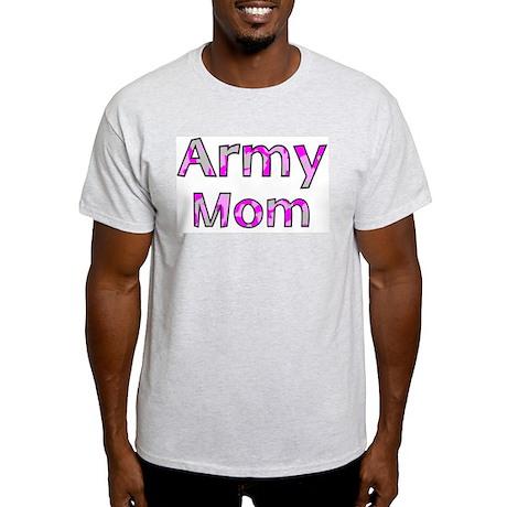 Army Mom Pink Camo Light T-Shirt