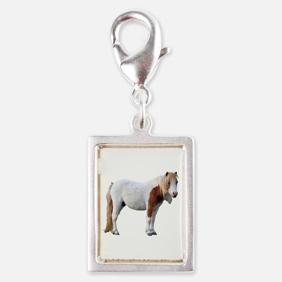 Filly Cutout Silver Portrait Charm