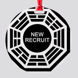new-recruit Round Ornament