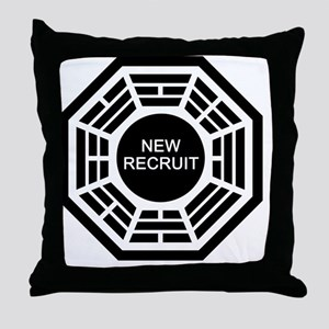 new-recruit Throw Pillow