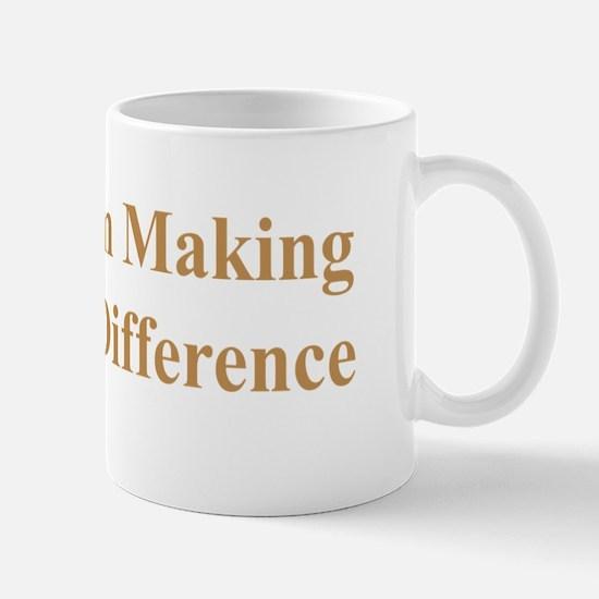 NEWBROWNMAKEADIFF4X7 copy Mug