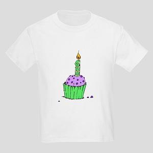 Green & Purple Kids T-Shirt