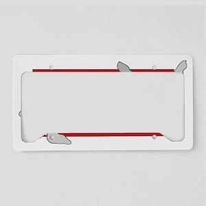 WeimOnBackTrans License Plate Holder