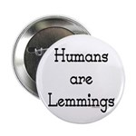 """Lemmings 2.25"""" Button (10 pack)"""