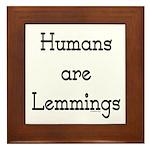 Lemmings Framed Tile