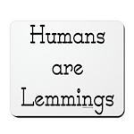 Lemmings Mousepad