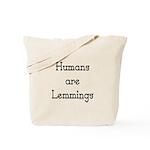 Lemmings Tote Bag